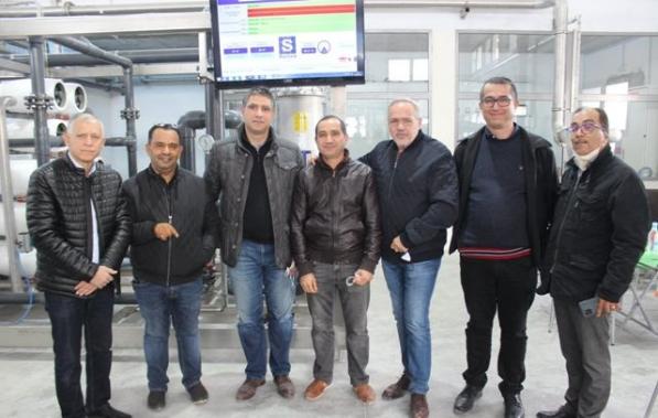 Sartex inaugure sa station de recyclage des eaux usées