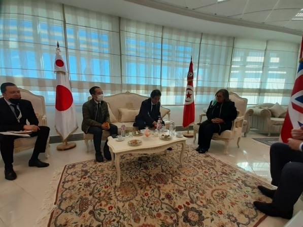 Visite de son Excellence l'ambassadeur du Japon en Tunisie au Parc d'Activités industrielles de Monastir « Neopark Monastir »